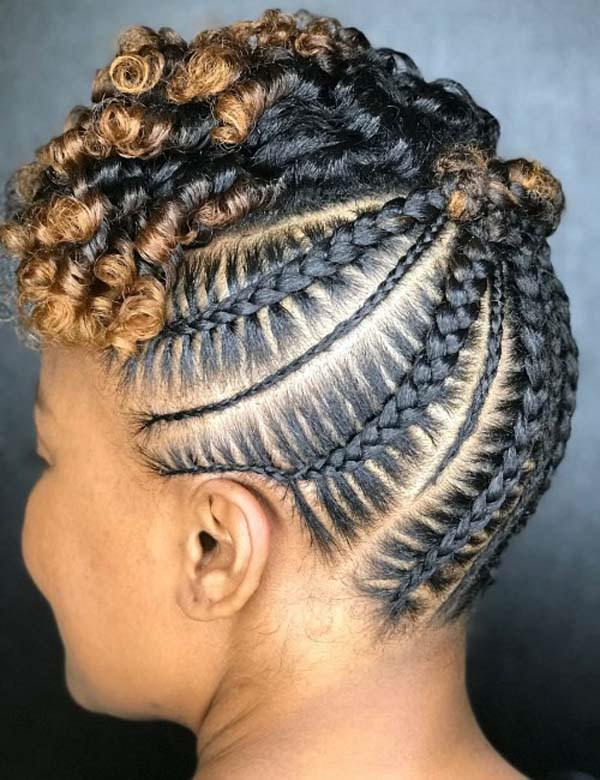 125 Most Sought After Cornrow Hairstyles
