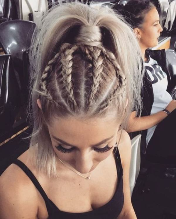 125 Artistic Braided Ponytails For 2019