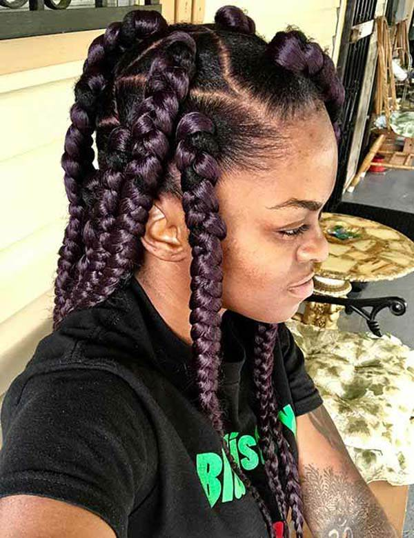 150 Chic Box Braids Styles That You Should Try
