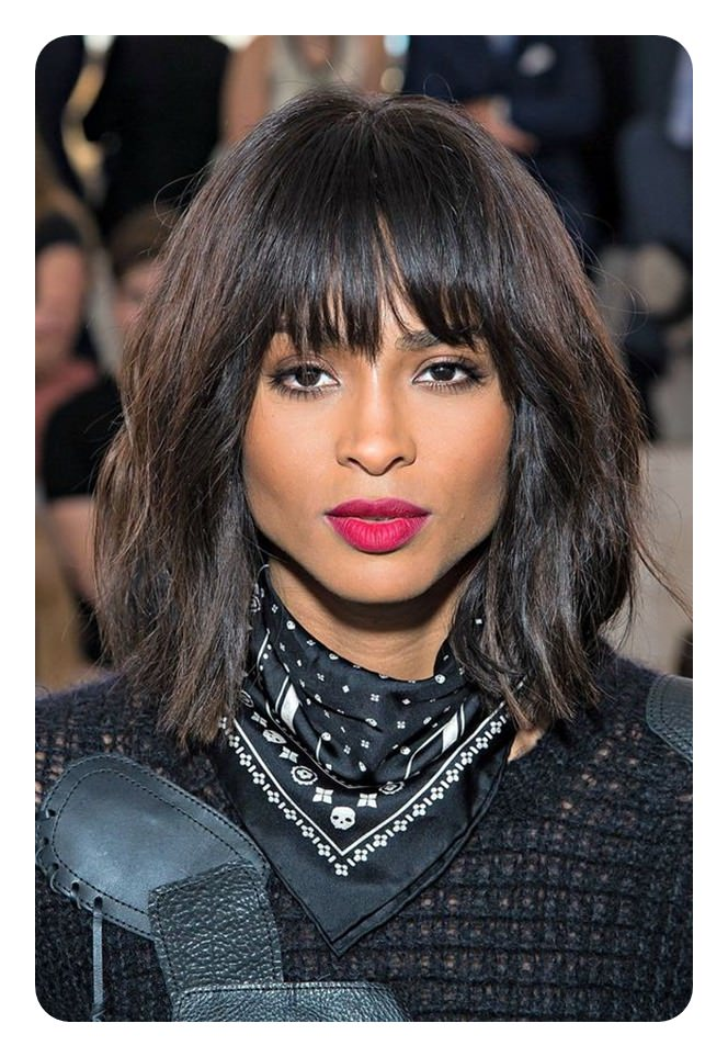 Blunt Cut Bob Rock Your Edge With 100 Haircuts To