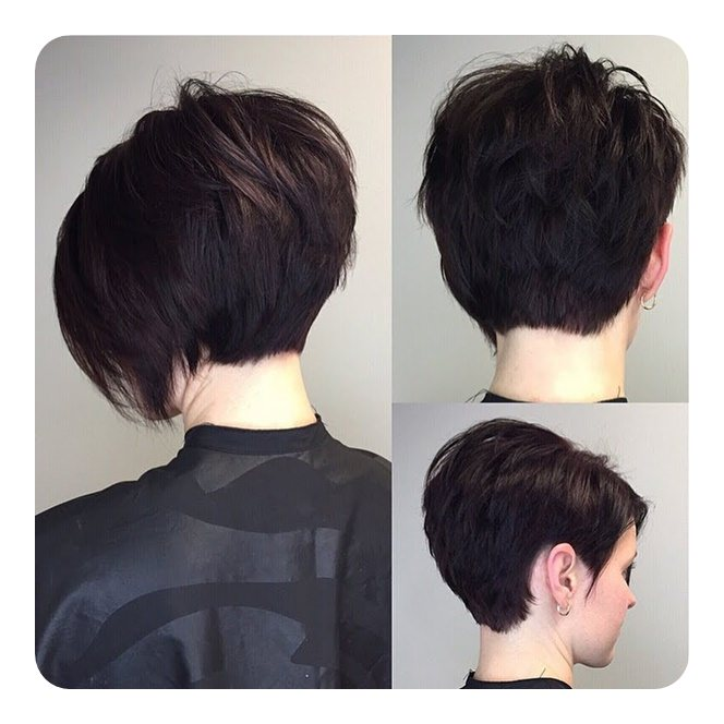 Textured Short Bob With Volume