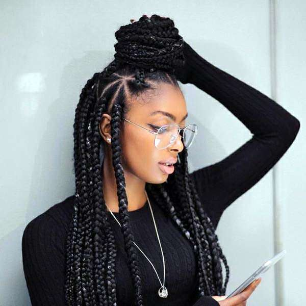 95 Fun African Braids That Are Totally In Vogue
