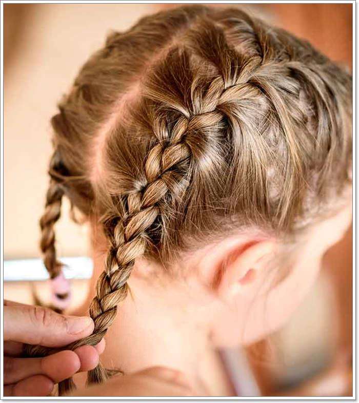 103 Adorable Braid Hairstyles For Kids