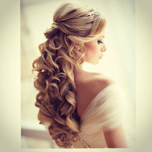 Hairstyle For Wedding Front View: 145 Exquisite Wedding Hairstyles For All Hair Types