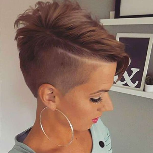 95 Bold Shaved Hairstyles For Women