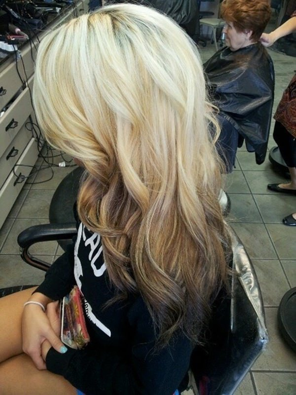 Reverse Ombre Hair Special Effects