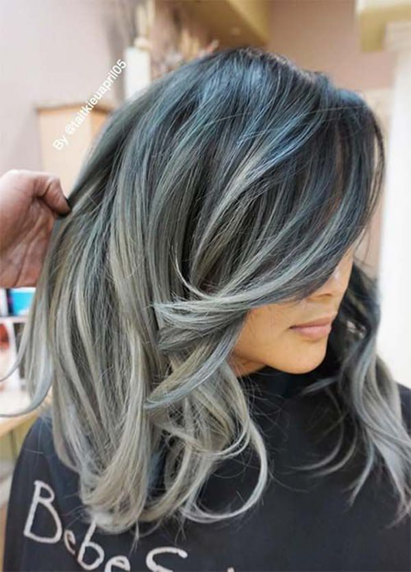 109 Extraordinary Silver Hair Options To Try This Season