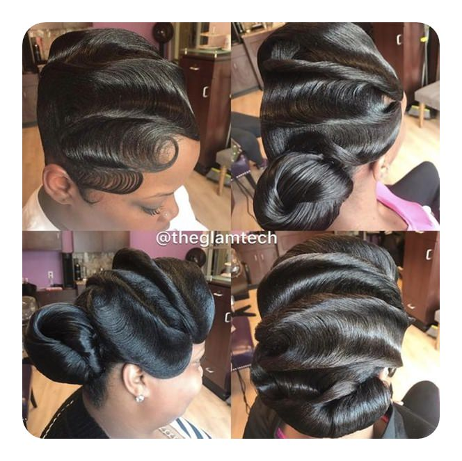 Wondrous Finger Waves Hairstyle Inspirations For The Todays Classic Woman Schematic Wiring Diagrams Amerangerunnerswayorg