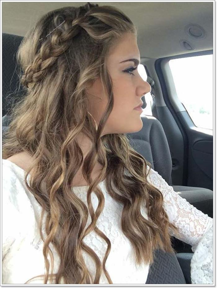 135 Whimsical Half Up Half Down Hairstyles You Can Wear
