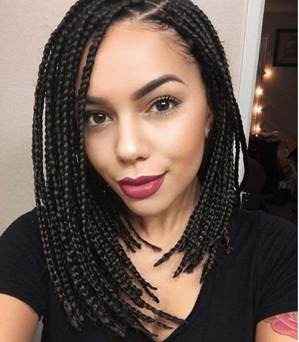 Extensions braids for short hair