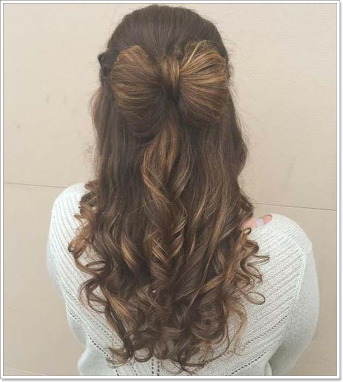 135 Whimsical Half Up Half Down Hairstyles You Can Wear For All