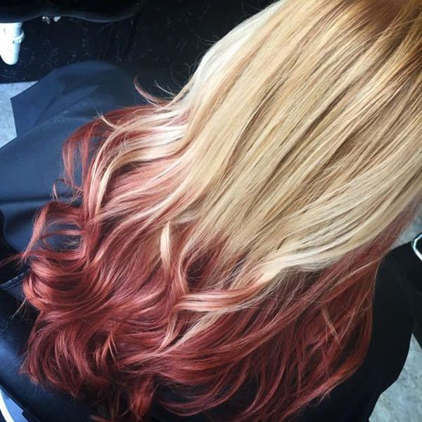 Reverse Ombre Hair - Special Effects for Blondes and Light Hair