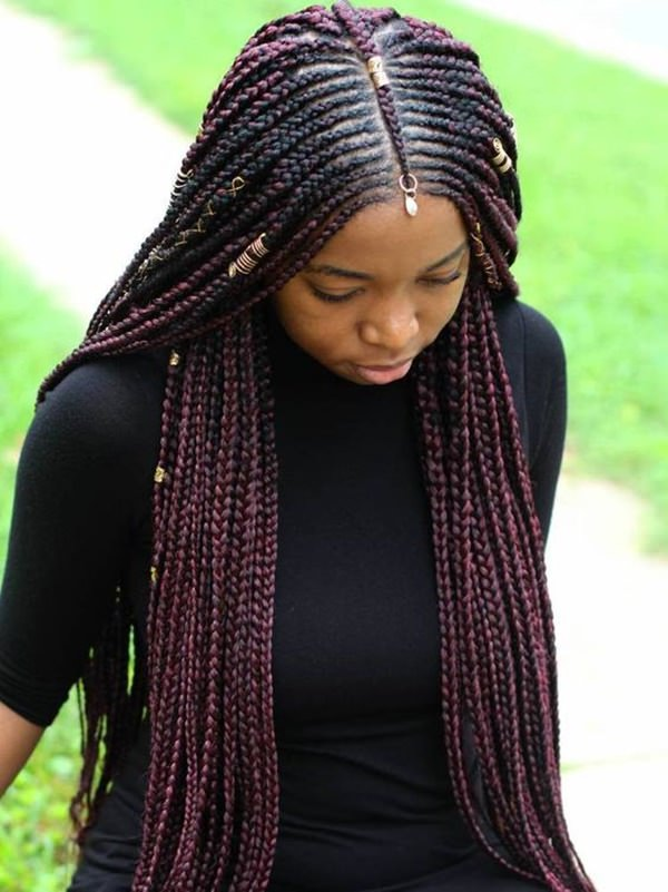 This Year\u0027s Trend 81 Timeless Fulani Braids To Go With Your