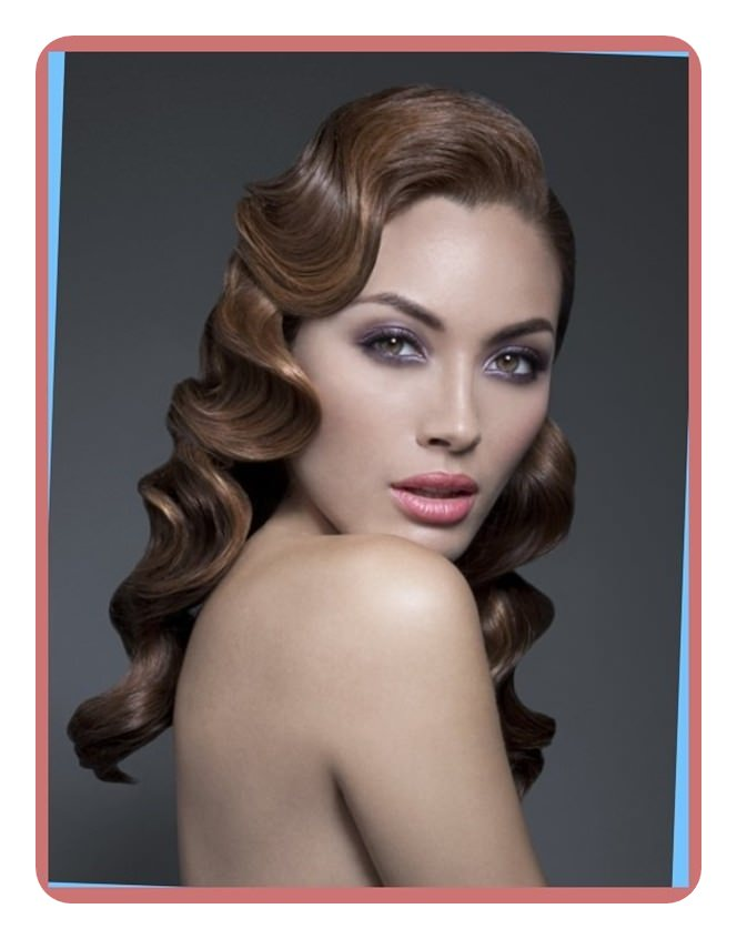 Finger Waves Hairstyle Inspirations For The Today S Classic Woman
