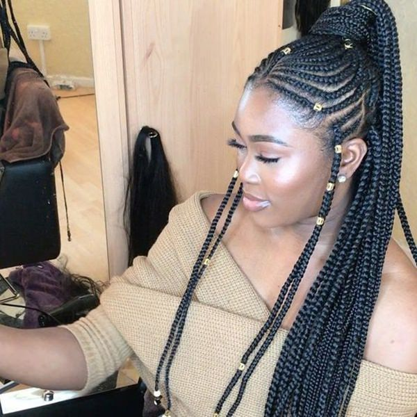 This Year S Trend 81 Timeless Fulani Braids To Go With Your Fashion