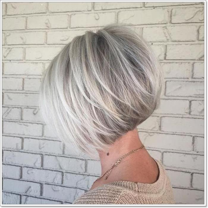 Short Layered Bob Haircuts For Older Women 36