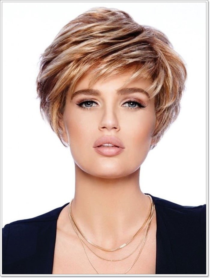 Short Layered Bob Haircuts For Older Women 91