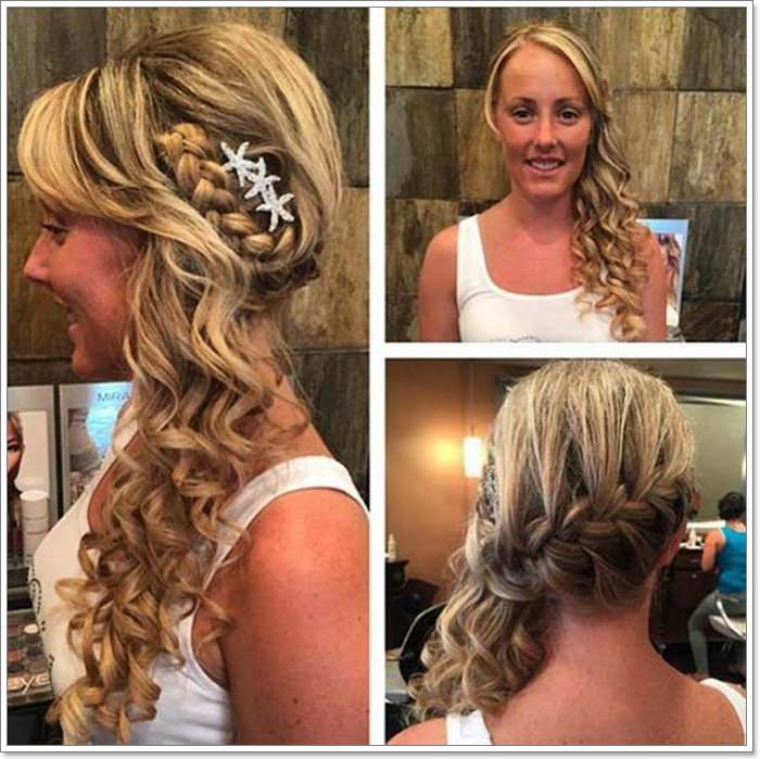 135 Whimsical Half Up Half Down Hairstyles You Can Wear for ...