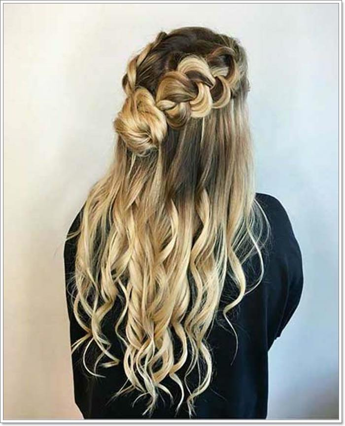 135 Whimsical Half Up Half Down Hairstyles You Can Wear For
