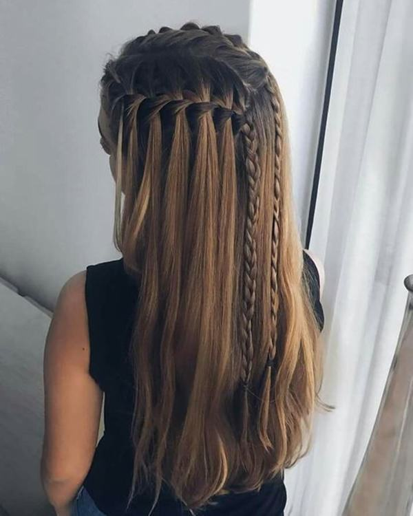 135 Chic and Stylish Waterfall Braids You Might Want to Try