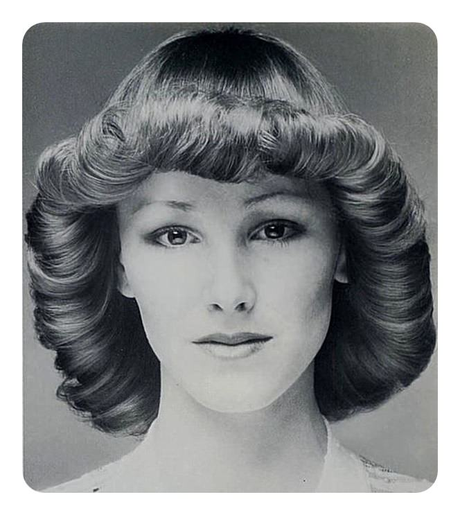 Womens hairstyles in the 70s