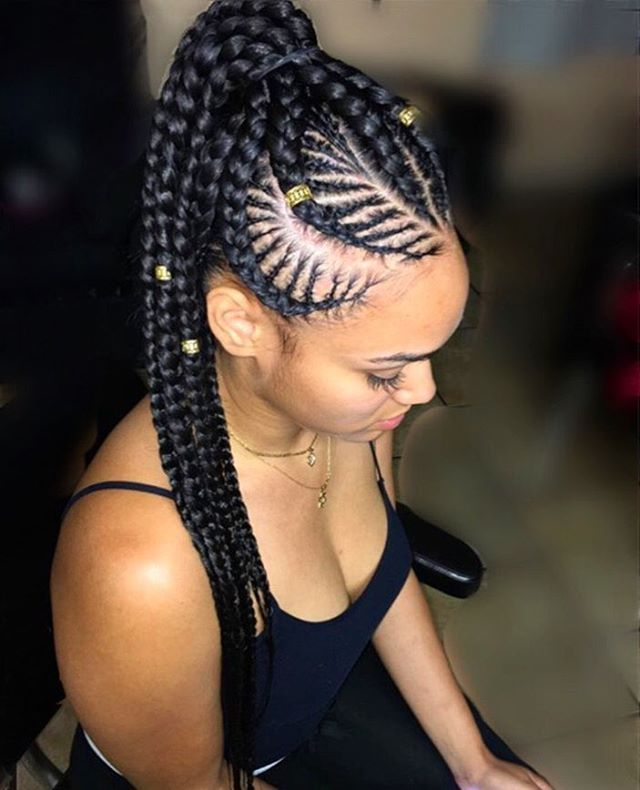80 Cool Ways To Rock The Goddess Braids Hairstyle