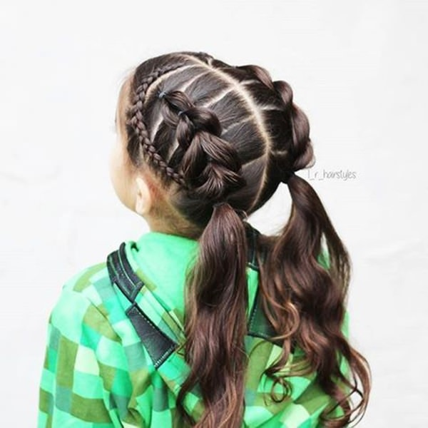 Admirable 140 Braided Hairstyles For Little Girls Are Stunning To Give Them Schematic Wiring Diagrams Amerangerunnerswayorg