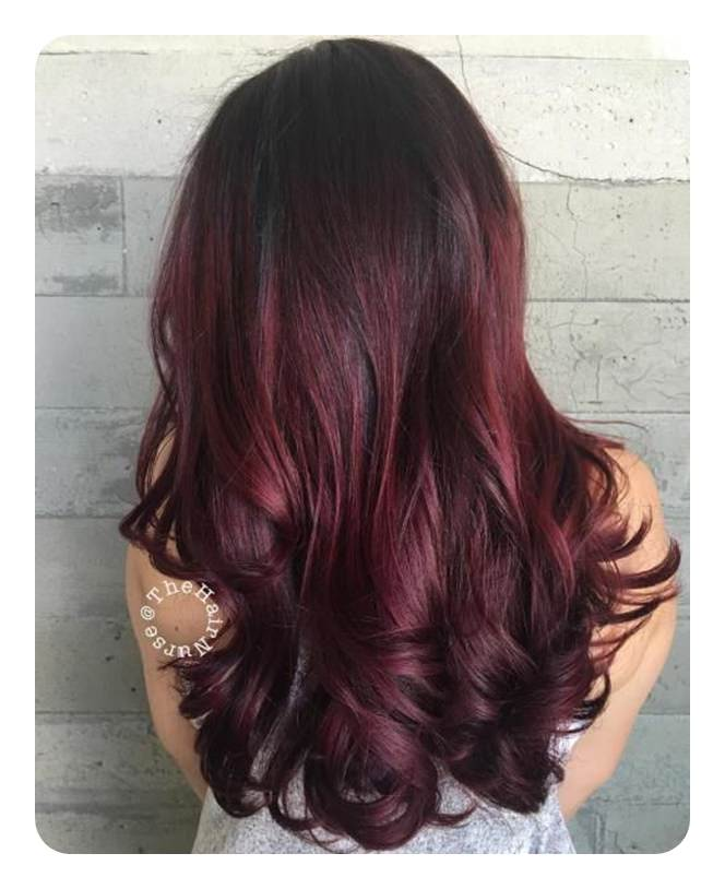 80 Stunning Red Hair With Highlights You Can Try Now 80 Stunning Red Hair with Highlights You Can Try Now Red Things red color of hair