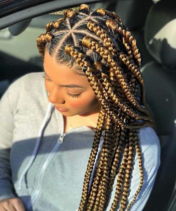 136 Trendy Yarn Braids You Can Wear In 2019