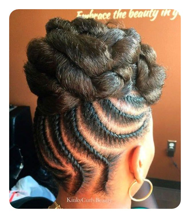 Wedding In Kenya With Twist Hair Style: Tired Of Cornrows? 86 Coolest Flat Twist To Try This 2018