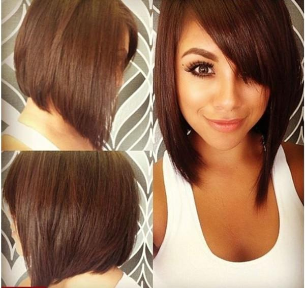 90 Trendy Hairstyles Made to Suit a Round Face