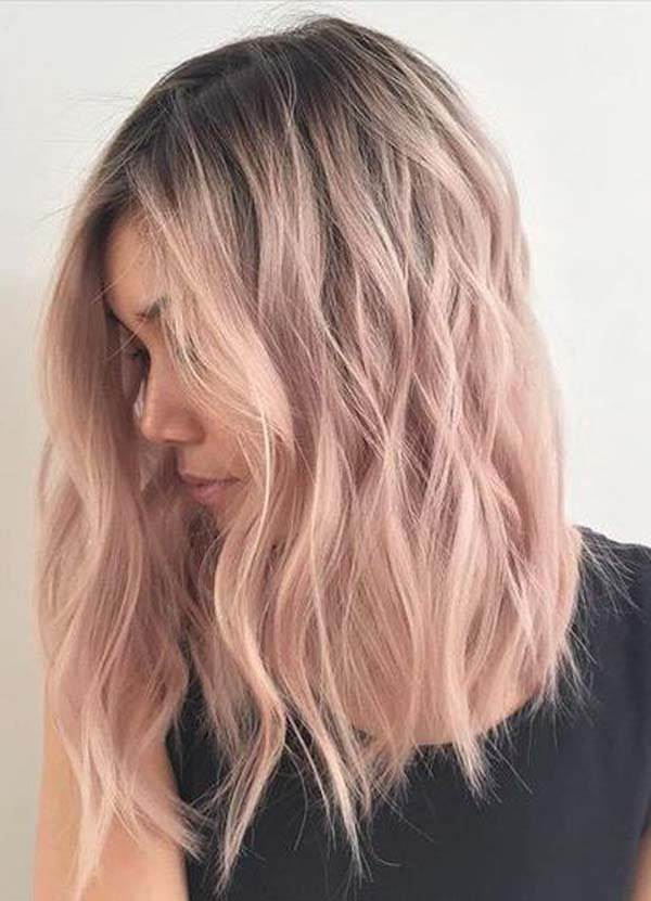 150 Trendy Rose Gold Hairstyles That You Can Proudly Don This Year