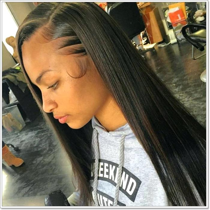 Latest Hair Style 2018 Attend Wedding Hair Tied Back: 58 Exciting Sew-In Hairstyles To Try In 2020