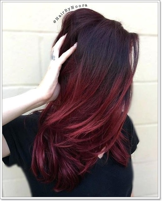106 Burgundy Hairstyles For A Fiery Fierce New You