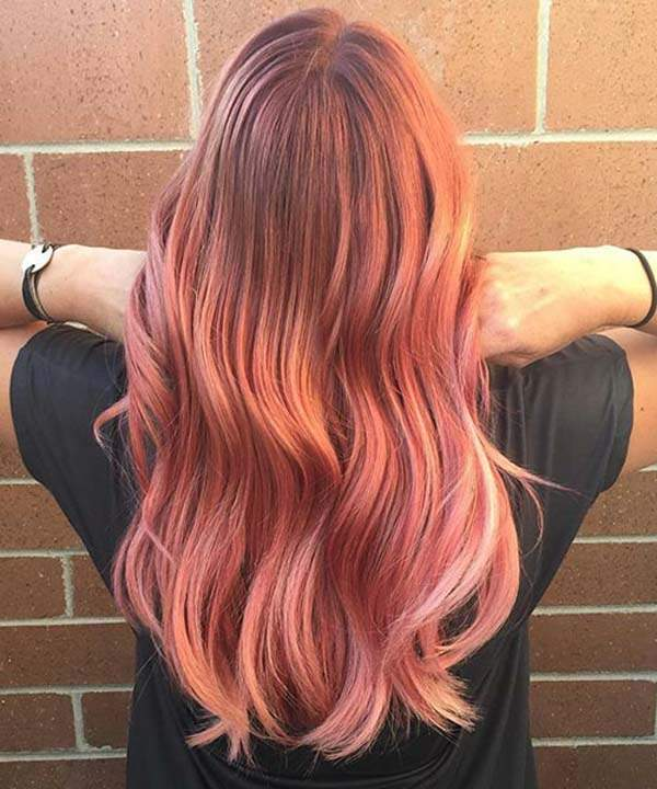 150 Trendy Rose Gold Hairstyles That You Can Proudly Don
