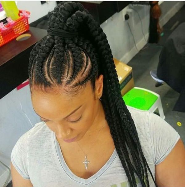 80 Amazing Feed In Braids For 2019