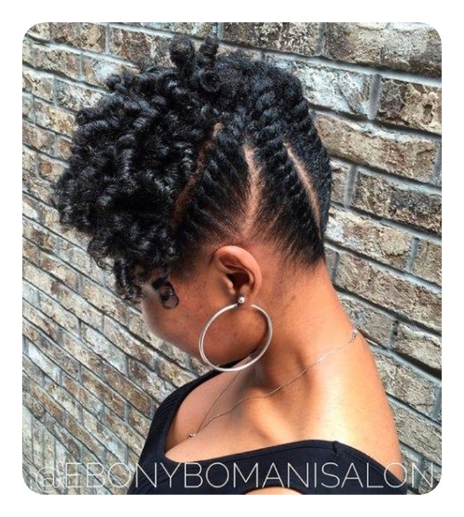 Astounding Tired Of Cornrows 86 Coolest Flat Twist To Try This 2018 Natural Hairstyles Runnerswayorg