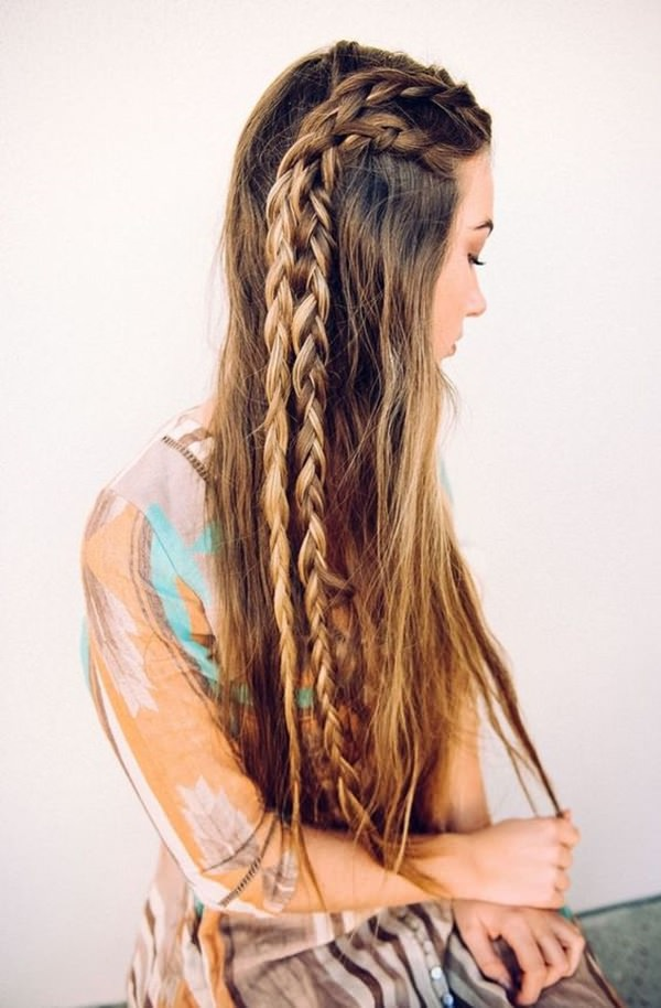 90 Glamorous Side Braids To Try Out This Season