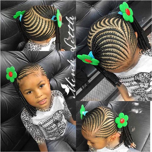Christmas Hairstyles For Black Girls.140 Braided Hairstyles For Little Girls Are Stunning To