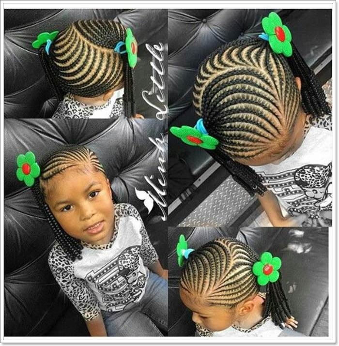 Pleasing 106 Adorable And Time Saving Braid Hairstyles For Kids Sass Natural Hairstyles Runnerswayorg