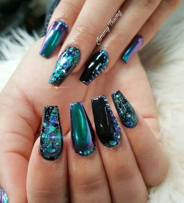 Nail Trend Undertaker 113 Coffin Nail Styles To Die For