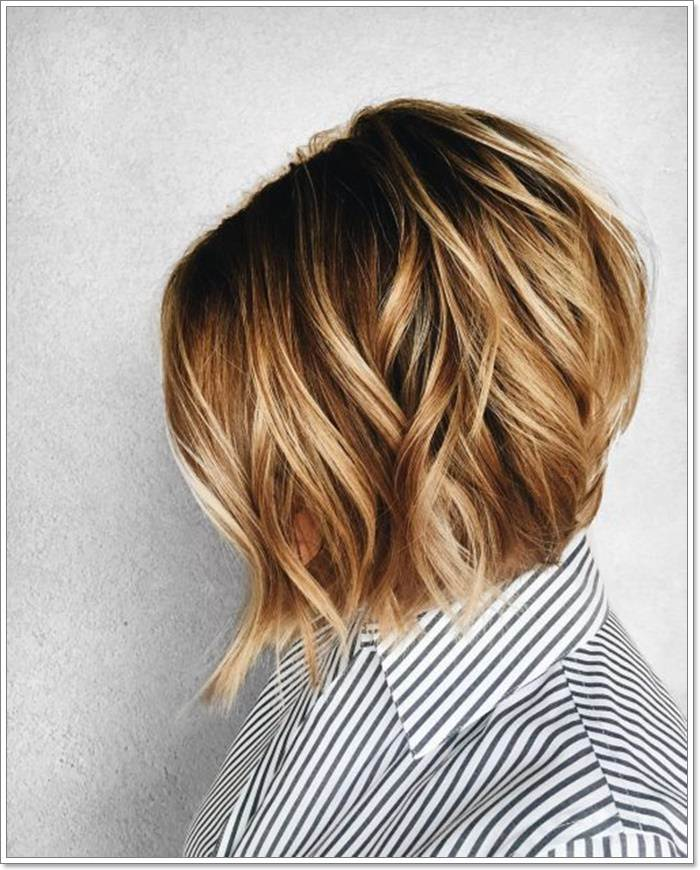 As a matter of fact, there's a lot of ways to style your short hair. For a fine example, you can try out the honey blonde balayage that makes an epic ...