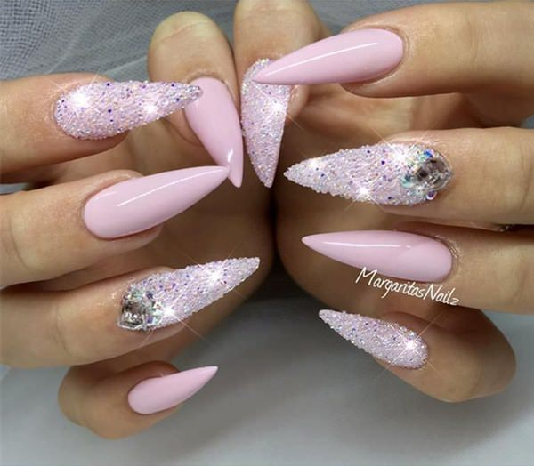 101 Incredibly Daring Stiletto Nails Perfect For Special Events Or