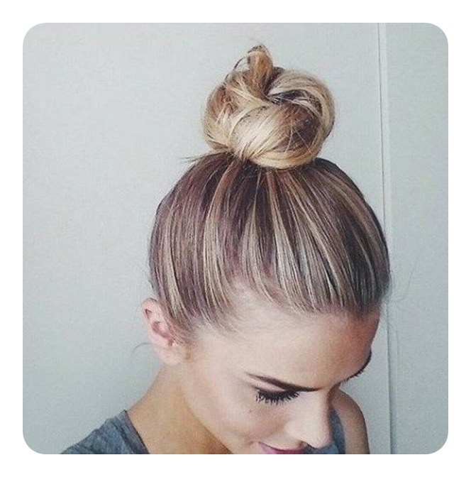 98 Iconic Top Knot Buns For You