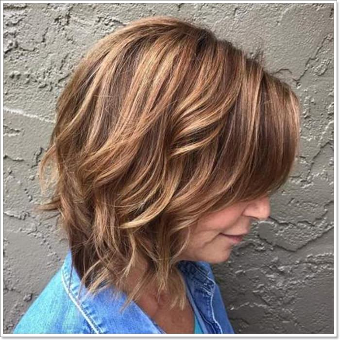 Hairstyles For Women Over 40 With Round Face