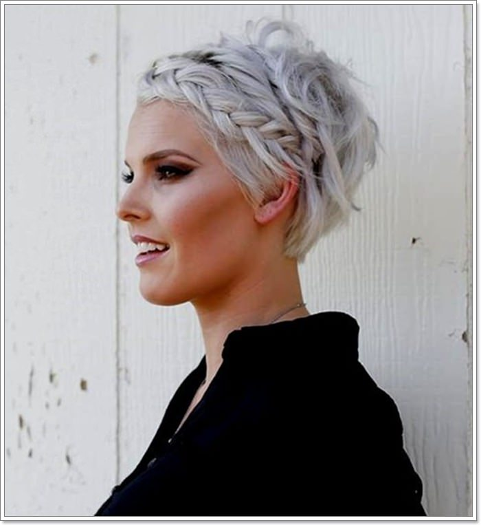 97 Interesting Braids For Short Hair 2019