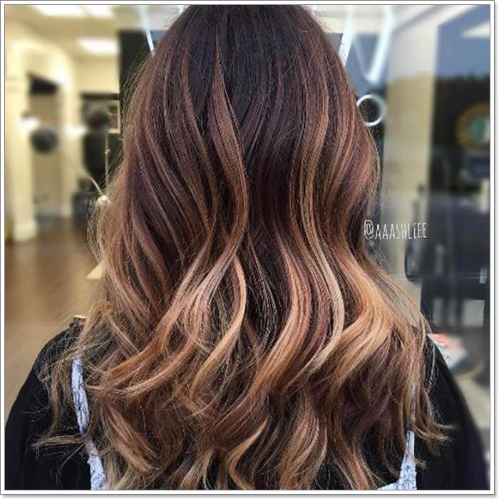 6e3ea8024dd We can't get enough the rose gold ombre hair as it is definitive and takes  the soft waves to a stylish platform just like that.