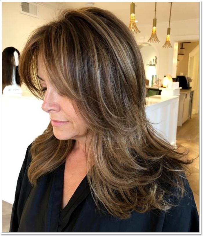 Long Hair Cuts For Women Over 40 29
