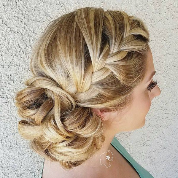 Kerala Bride Simple Hairstyle For Long Forehead: 101 Stunning Side Bun Hairstyles For All Special Occasions