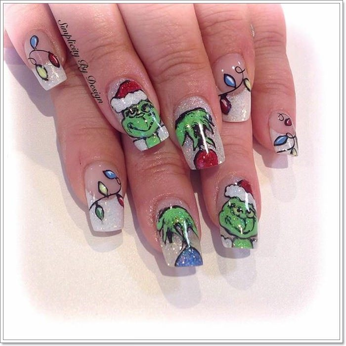 Holiday Season Nails 110 Christmas Nails To Feel Festive All Year Long